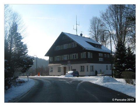 Ehem. Zollhaus & Grenzübergang Bad Elster - Doubrava (CZ)