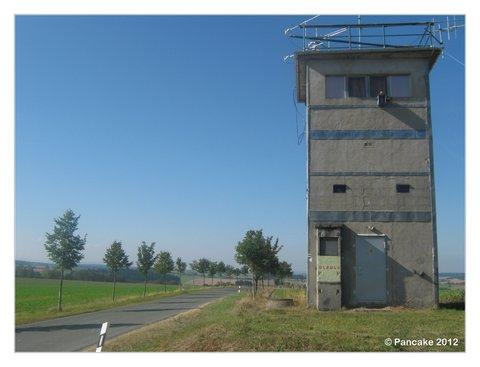 Ehem. Grenzturm, heute ein Amateurfunkturm