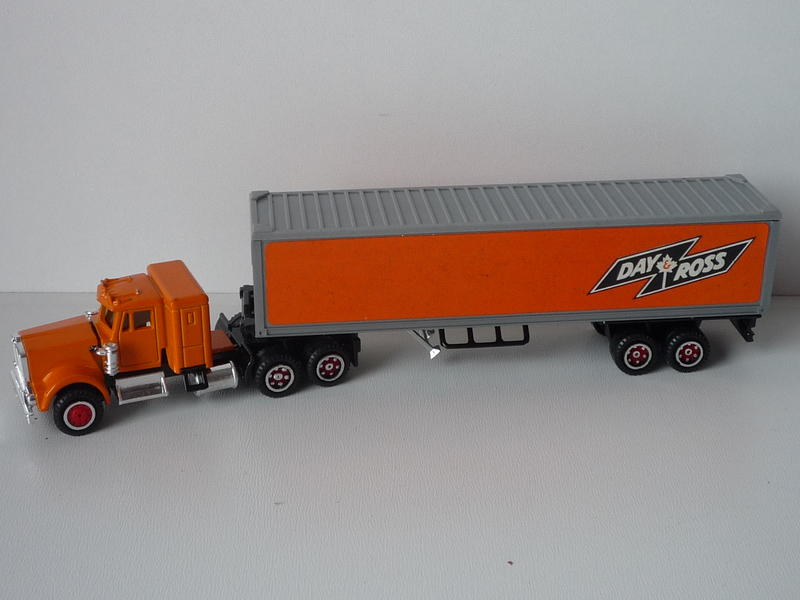 N°604 Kenworth + semi remorque container  ( version lisse ) 13545135rz