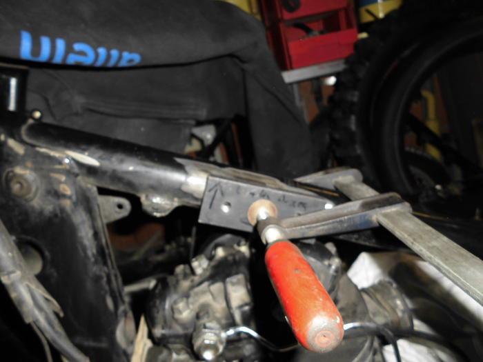 Enduro Gespann VMC mit Yamaha XT 500 Motor 13595676yz