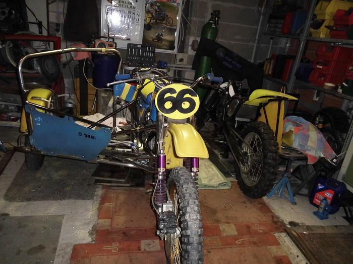 Enduro Gespann VMC mit Yamaha XT 500 Motor 13724624oz