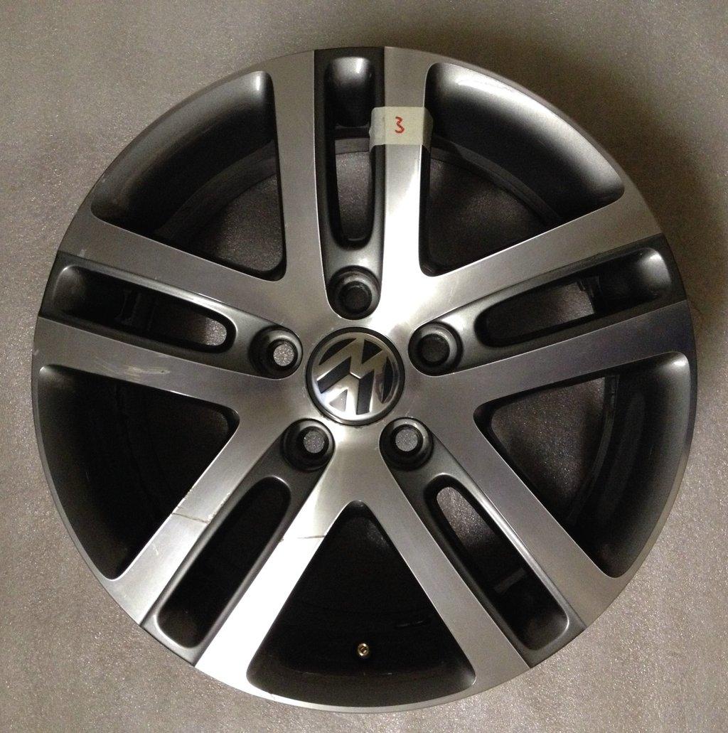 Volkswagen Atlanta: 1x Original VW ATLANTA Alufelge 16 Alu Felge Felgen Rim