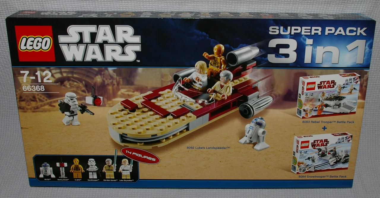 Lego star wars 66368 superpack 3 in 1 in d ball s neuf dans sa bo te 14 personnages ebay - Lego star wars personnage ...