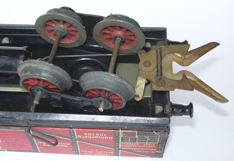Bing  - elektromagnetische Entkupplung anno 1931 14100478os