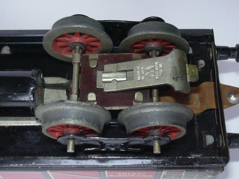 Bing  - elektromagnetische Entkupplung anno 1931 14100480eg