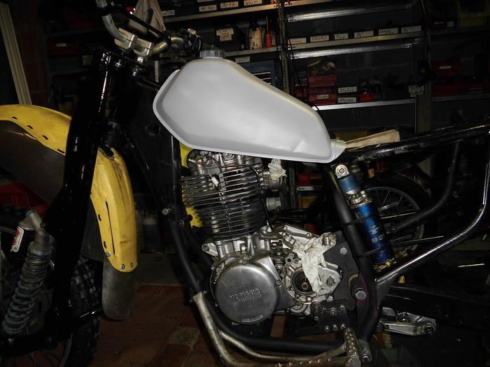 Enduro Gespann VMC mit Yamaha XT 500 Motor 14105021ca