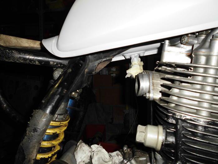 Enduro Gespann VMC mit Yamaha XT 500 Motor 14105169qe