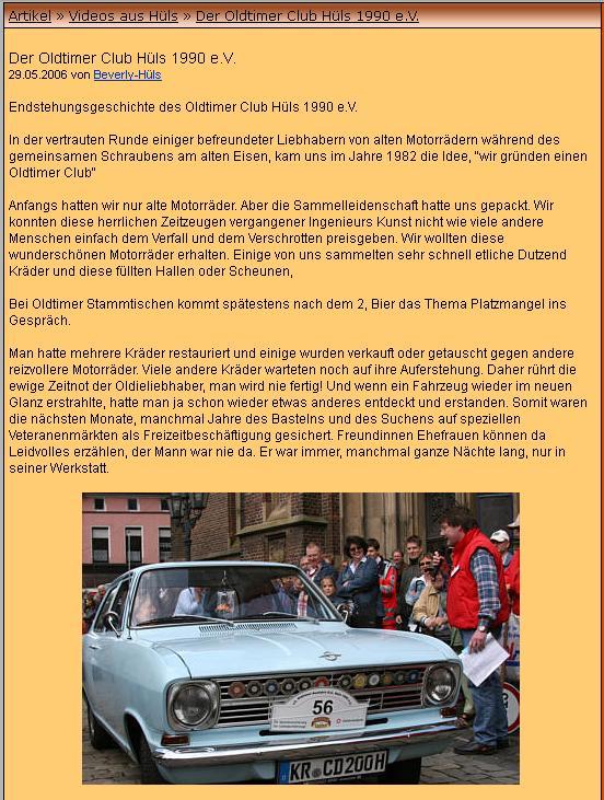 motorrad club krefeld hüls