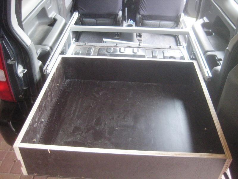 Mein Kofferraum Ausbau