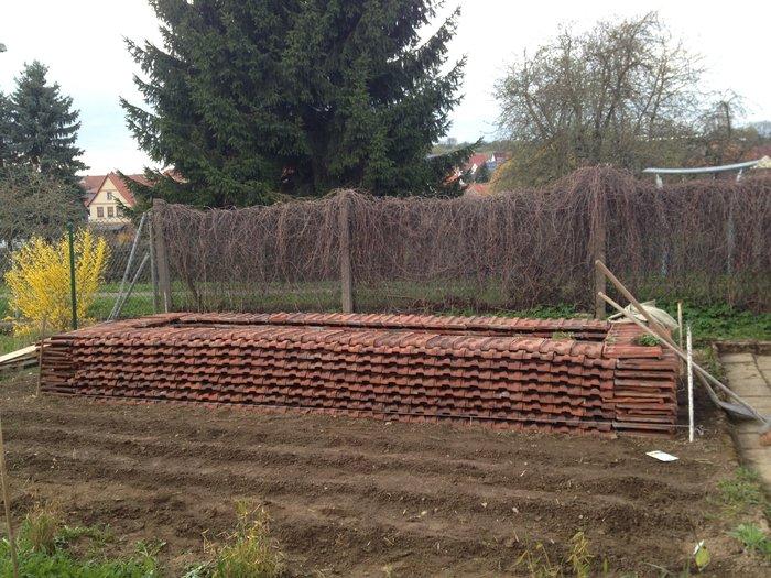Rheingau Hochbeet selbstvers org thema anzeigen hochbeet aus dachziegeln