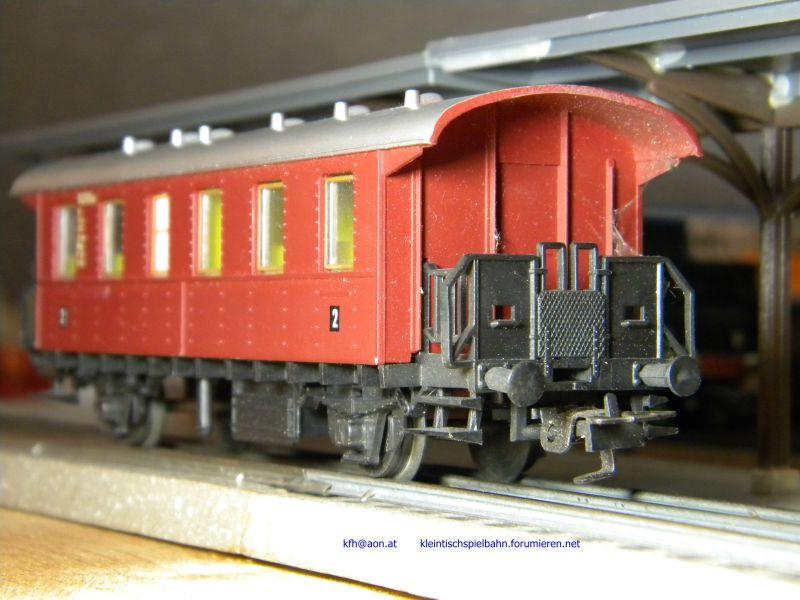 Liliput Personenwagen rot, 2achsig 14332815hd