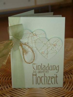 Einzigartige Einladungskarten Hochzeit Selber Basteln | Besonders At  Einladungs. Welche Farben???fotos
