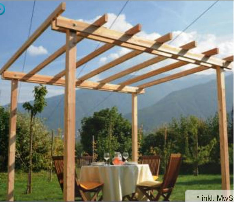 pergola selber bauen holz md27 hitoiro. Black Bedroom Furniture Sets. Home Design Ideas