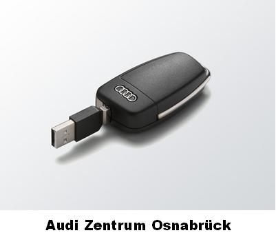 esclusivo memoria media in originale audi chiave ottica con 8 gb di memoria ebay. Black Bedroom Furniture Sets. Home Design Ideas