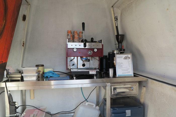 gas espresso machine
