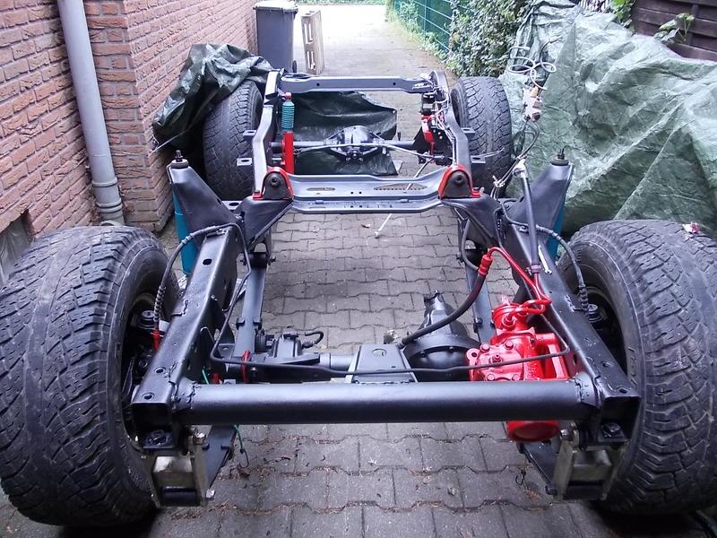 Jeep Wrangler YJ Motor einbauen
