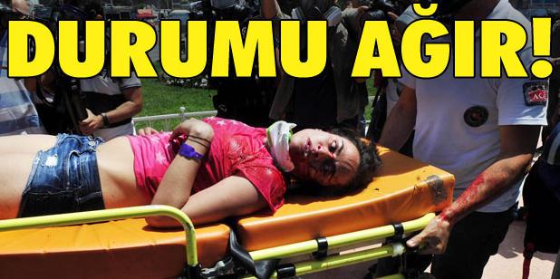 Taksim Gezi Parkı Savaş Alanına Döndü 31.05.2013 14683668hl