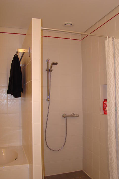 Wet rooms for Construction douche italienne
