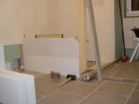 The Story Of My Bathroom Project In Burgundy