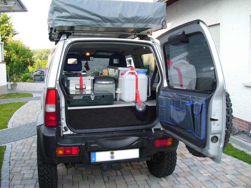 jimny als camper zeigt her seite 2. Black Bedroom Furniture Sets. Home Design Ideas