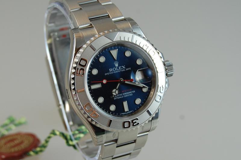 FS:Rolex Yachtmaster 116622 Blue Random - myWatchMart