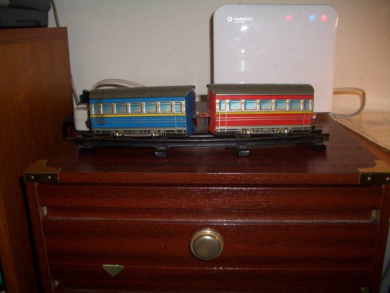 Distler Lok Spur 0 mit Batteriemotor 15476521gs