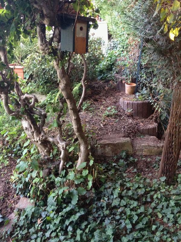 gartenhang anlegen treppe bepflanzung befestigung. Black Bedroom Furniture Sets. Home Design Ideas
