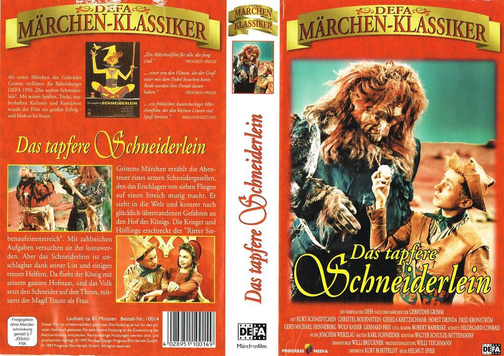 Das Tapfere Schneiderlein Film