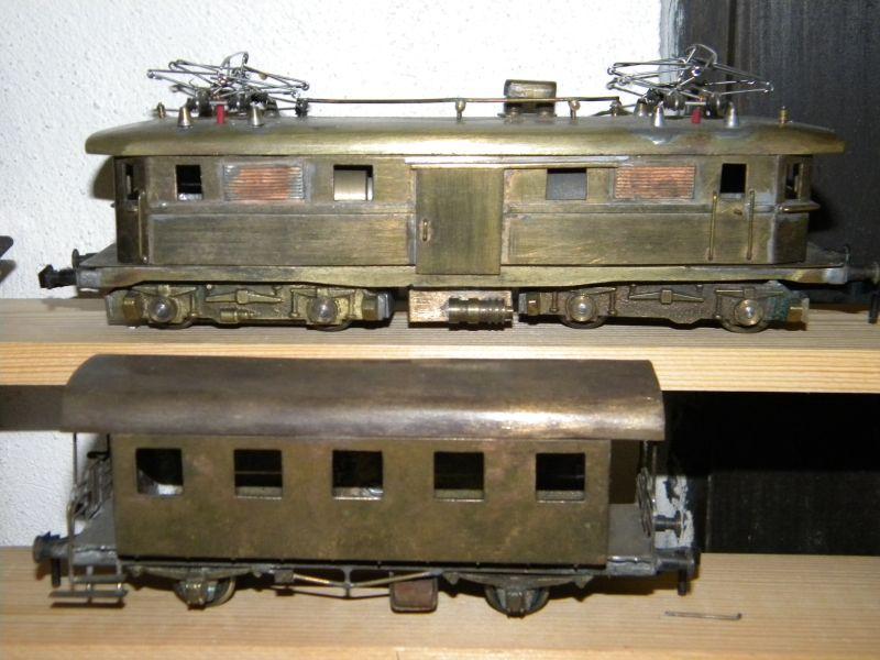 Göls Lokomotive und Wagen - Abzugeben 15650525gy