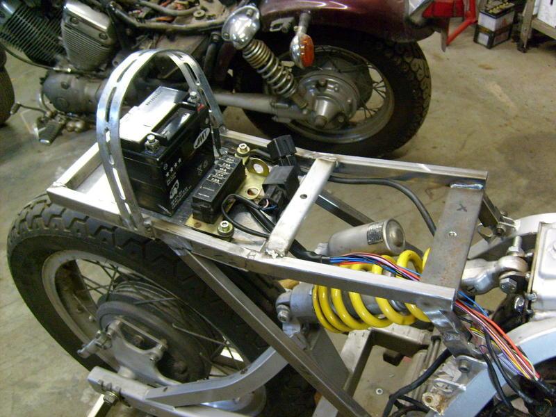 Cafe Racer Selber Bauen Anleitung Motorrad Bild Ideen