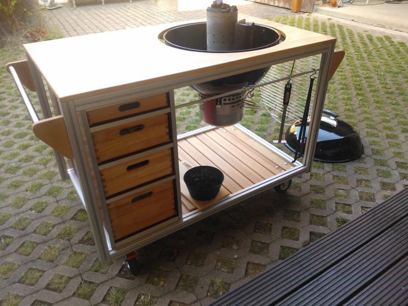 Outdoor Küche Weber Kugelgrill : Outdoorküche mit weber kugelgrill outdoorküche mit weber grill