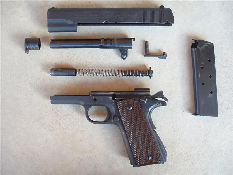 Colt Government M 1911 A1, Kaliber 45 ACP - PULVERDAMPF