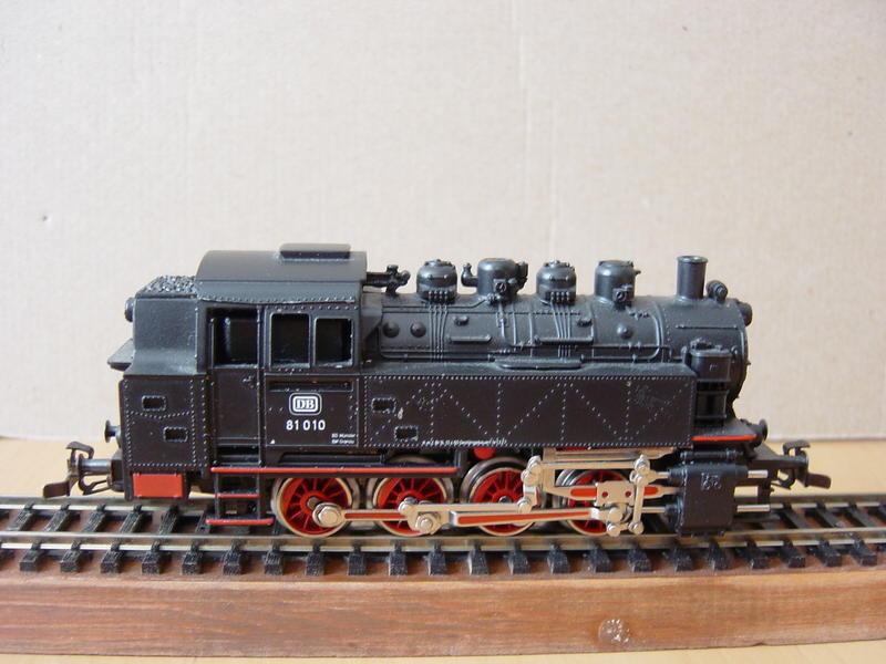 Varianten der Tenderlok BR 81-DB von MÄRKLIN 15989114gn