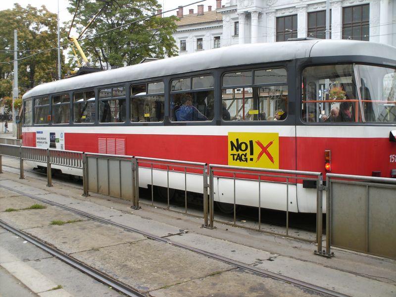 Straßenbahnen in Brünns Altstadt 16019531ki