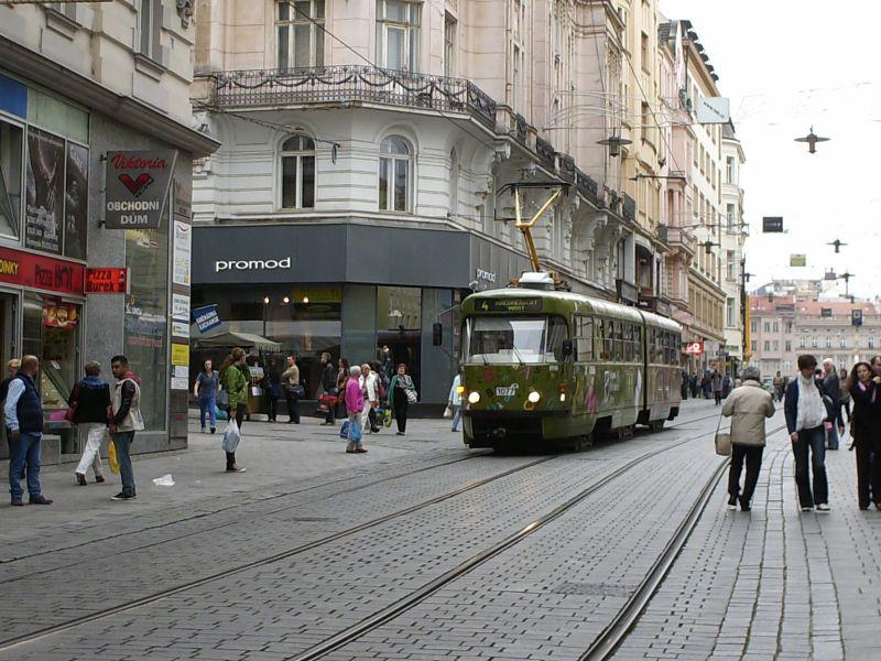 Straßenbahnen in Brünns Altstadt 16019532ut