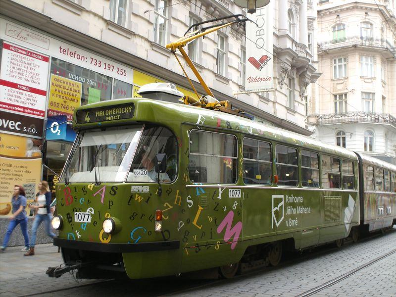 Straßenbahnen in Brünns Altstadt 16019534ew