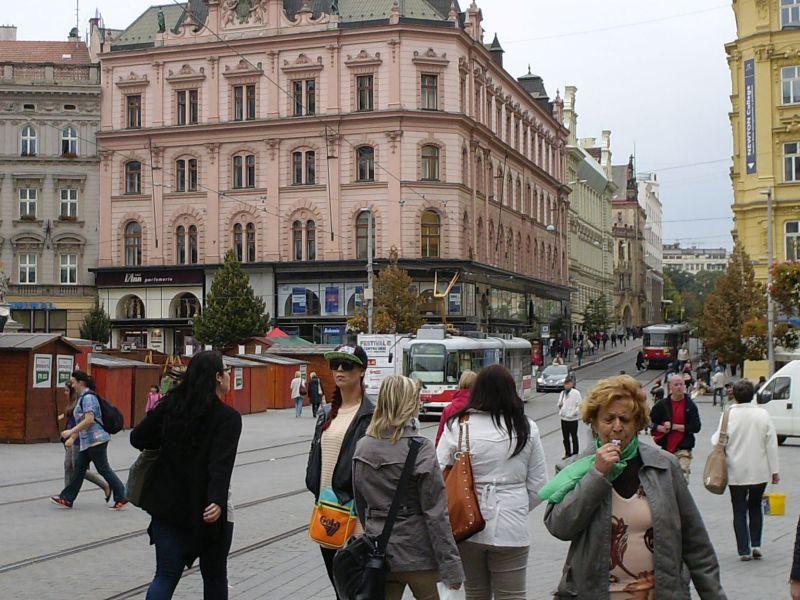 Straßenbahnen in Brünns Altstadt 16019535oy