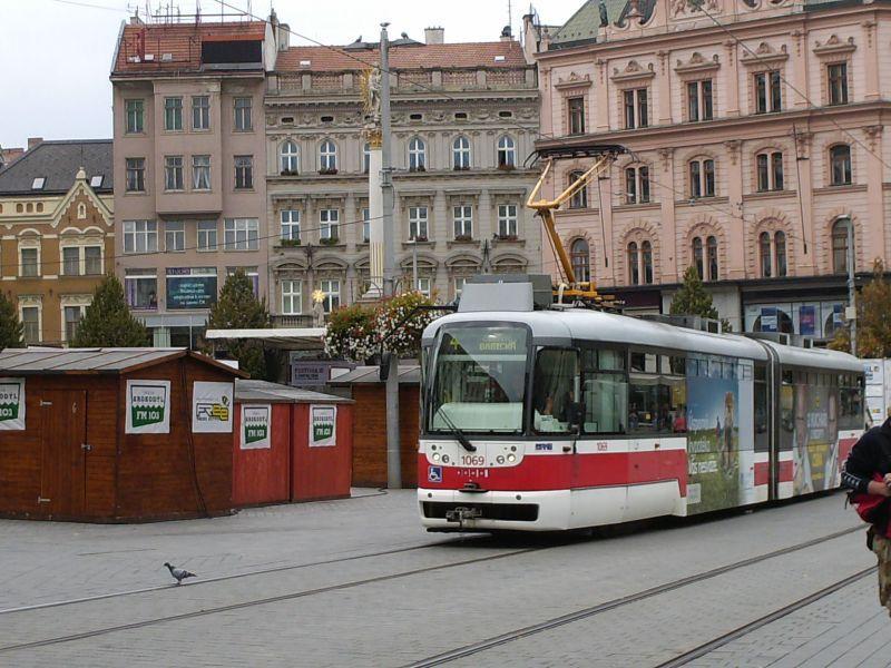 Straßenbahnen in Brünns Altstadt 16019536aa
