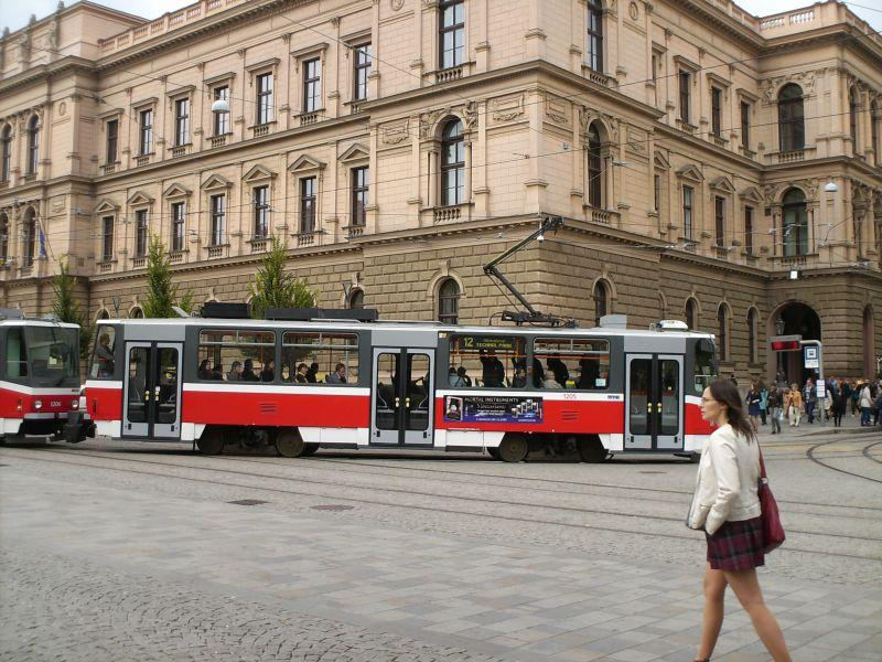 Straßenbahnen in Brünns Altstadt 16019537gw