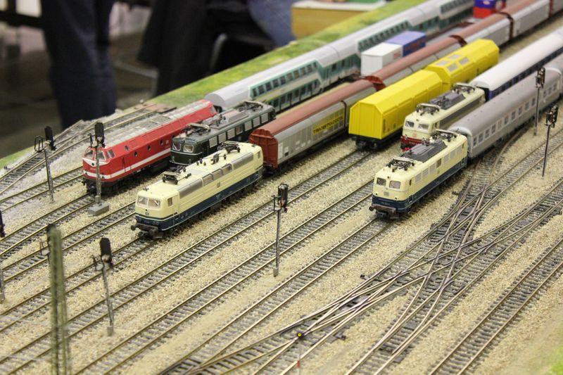 """Historische Modellbahnausstellung: 75 Jahre TRIX EXPRESS """"Automatik""""-Entkupplung 1938 16078634oy"""