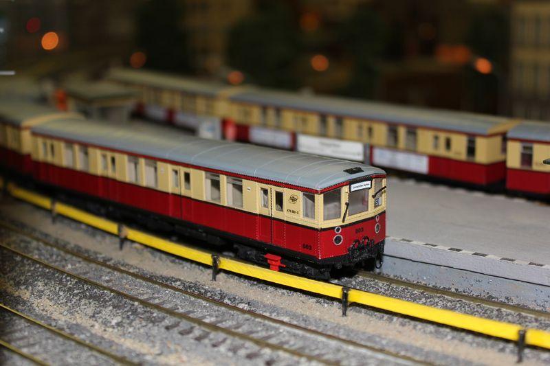 """Historische Modellbahnausstellung: 75 Jahre TRIX EXPRESS """"Automatik""""-Entkupplung 1938 16078641ps"""