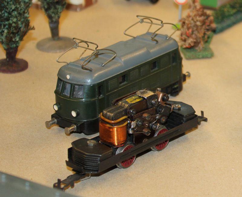 """Historische Modellbahnausstellung: 75 Jahre TRIX EXPRESS """"Automatik""""-Entkupplung 1938 16078662jk"""
