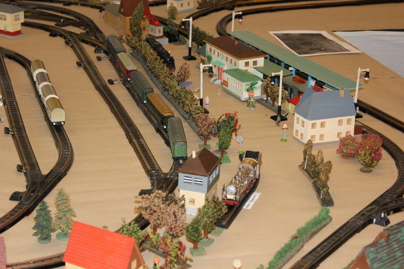 """Historische Modellbahnausstellung: 75 Jahre TRIX EXPRESS """"Automatik""""-Entkupplung 1938 16078664mk"""