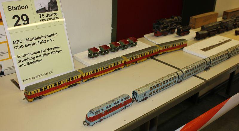 """Historische Modellbahnausstellung: 75 Jahre TRIX EXPRESS """"Automatik""""-Entkupplung 1938 16078667dy"""