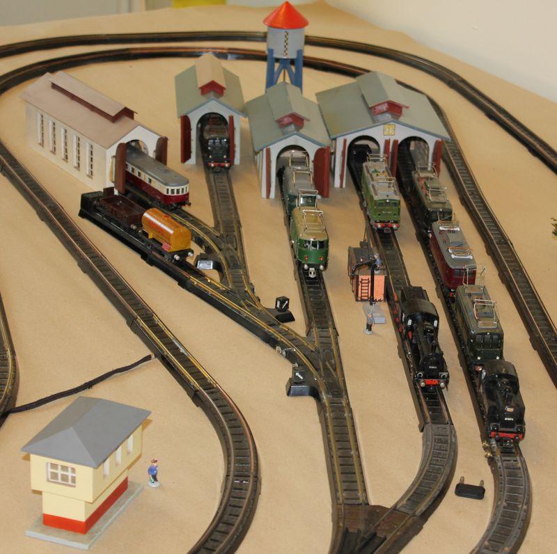 """Historische Modellbahnausstellung: 75 Jahre TRIX EXPRESS """"Automatik""""-Entkupplung 1938 16078715lk"""