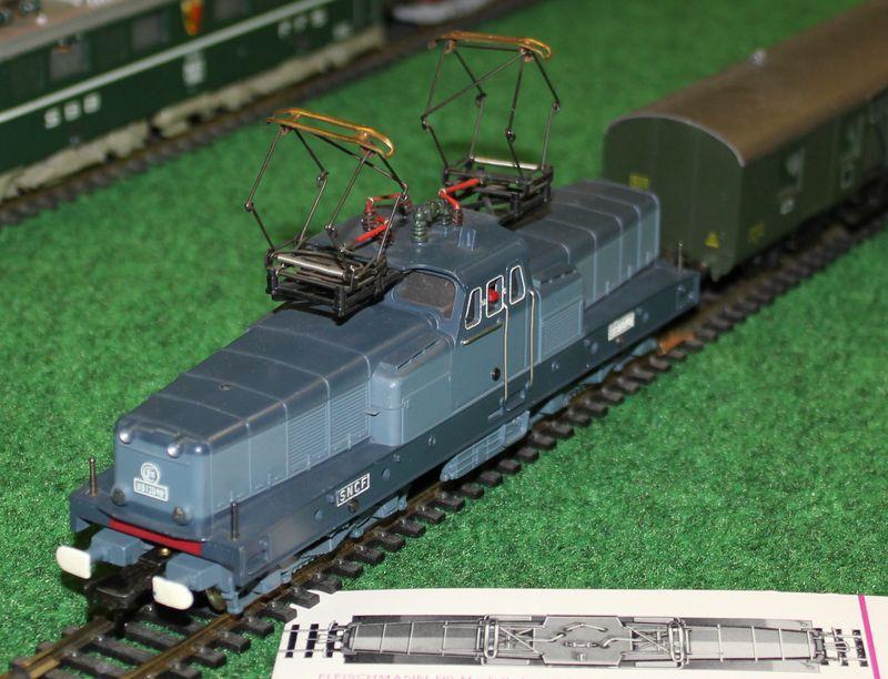 "Historische Modellbahnausstellung: 75 Jahre TRIX EXPRESS ""Automatik""-Entkupplung 1938 16078809ka"