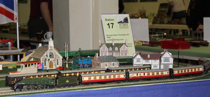 """Historische Modellbahnausstellung: 75 Jahre TRIX EXPRESS """"Automatik""""-Entkupplung 1938 16078956xk"""