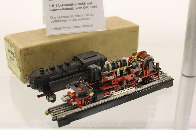 """Historische Modellbahnausstellung: 75 Jahre TRIX EXPRESS """"Automatik""""-Entkupplung 1938 16078986fk"""