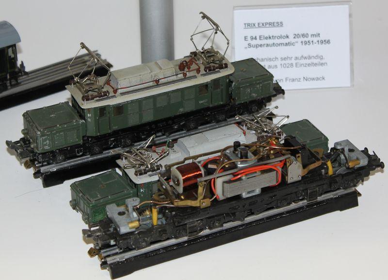 """Historische Modellbahnausstellung: 75 Jahre TRIX EXPRESS """"Automatik""""-Entkupplung 1938 16078989wu"""