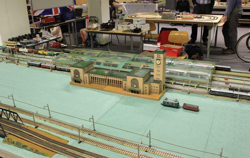 """Historische Modellbahnausstellung: 75 Jahre TRIX EXPRESS """"Automatik""""-Entkupplung 1938 16078992cy"""
